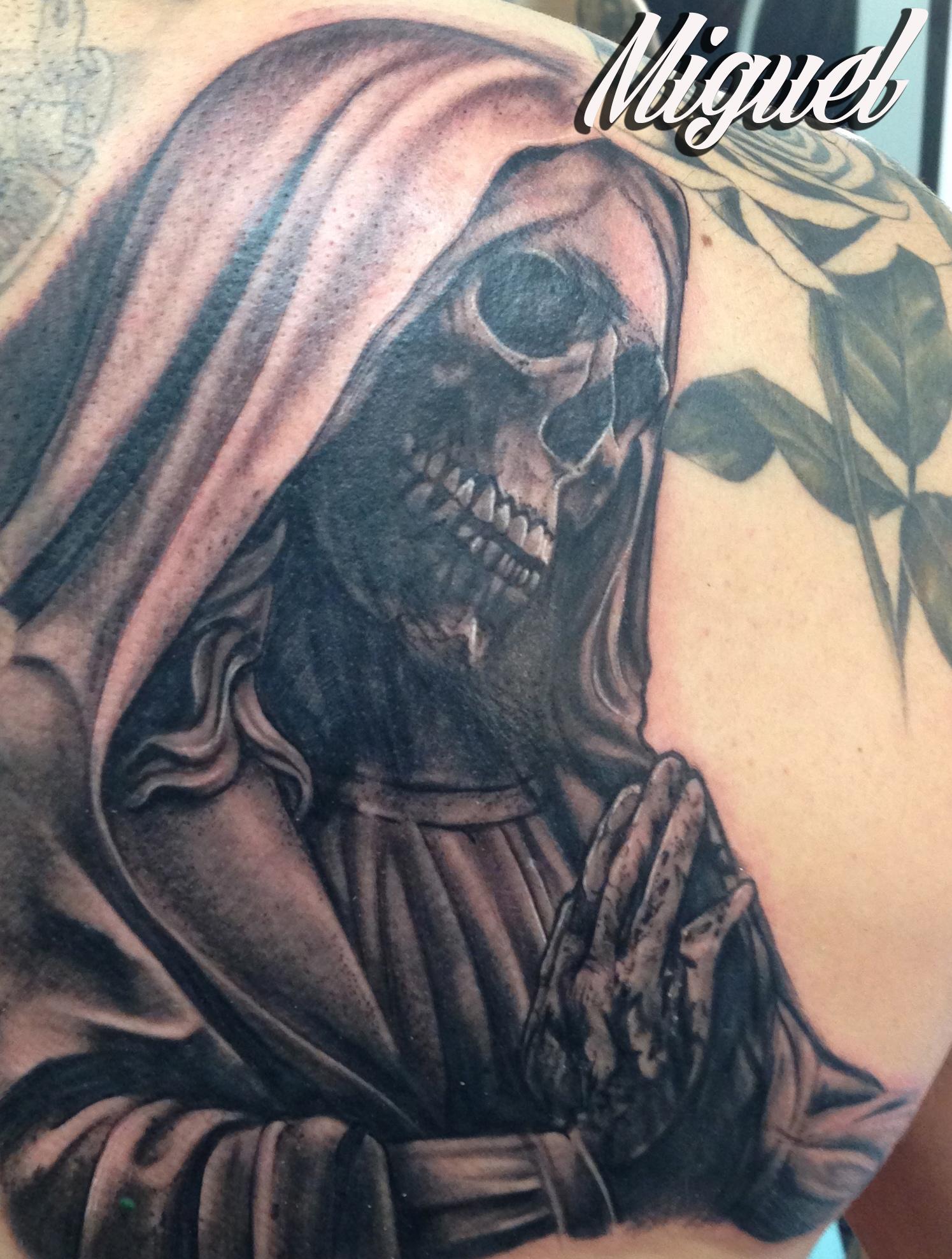 Tattoos De La Santa Muerte Imagui