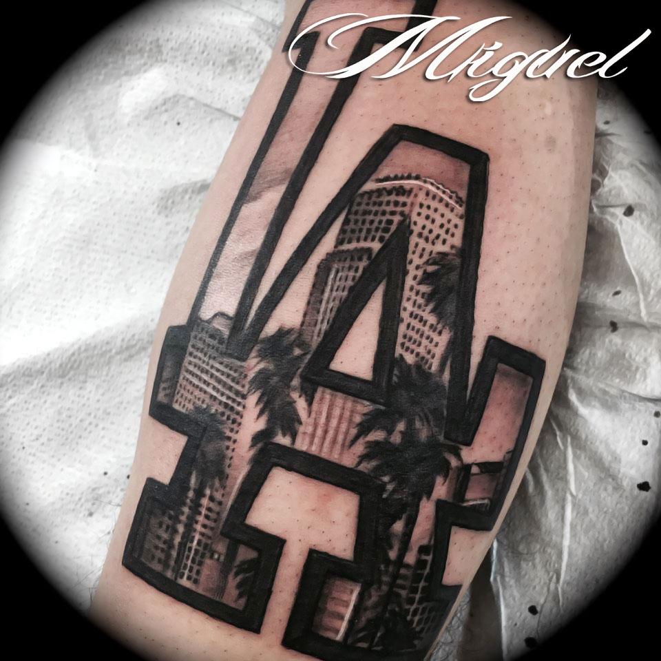 La dogers oklahoma city ink for Tattoo oklahoma city ok